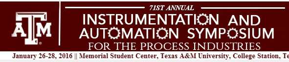 The Instrumentation & Automation Symposium for the Process Industries